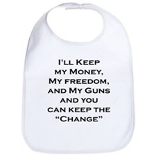 Cute Funny anti obama Bib