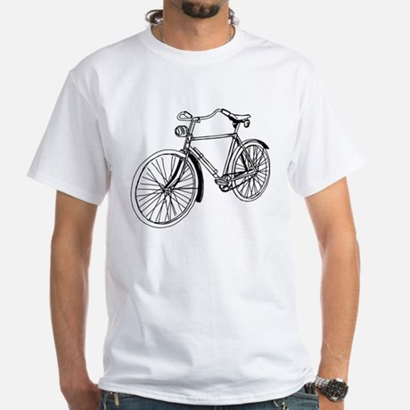 Bicycle White T-Shirt