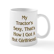 Farmer Hot Girlfriend Small Mug