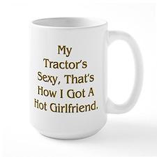 Farmer Hot Girlfriend Mug