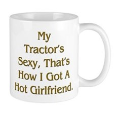 Farmer Hot Girlfriend Small Mug