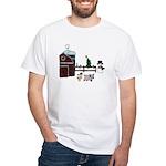 Farm Christmas White T-Shirt