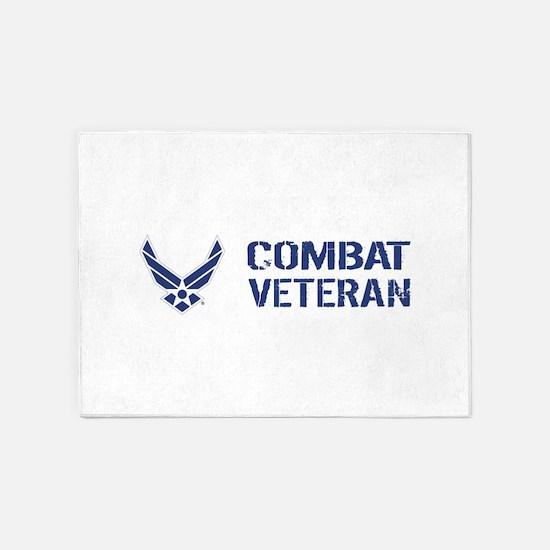 USAF: Combat Veteran 5'x7'Area Rug