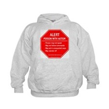 Person With Autism Alert Hoodie