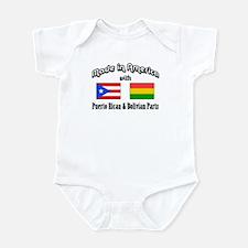 Puerto Rican-Bolivian Infant Bodysuit