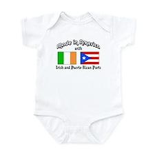 Irish-Puerto Rican Infant Bodysuit