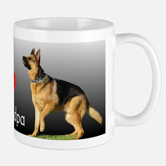I love Grandpa German Shepherd Mug