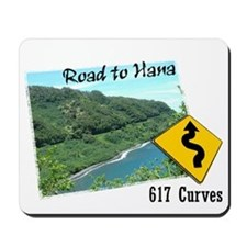 Road to Hana Mousepad