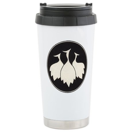 Trio of Shore Birds Stainless Steel Travel Mug