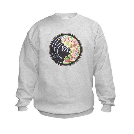 Bright Shrimp Kids Sweatshirt