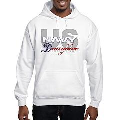 US Navy Daughter Hooded Sweatshirt