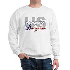 US Navy Daughter Sweatshirt