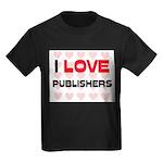 I LOVE PUBLISHERS Kids Dark T-Shirt