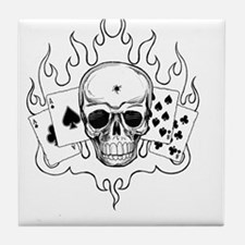 Cute Aces Tile Coaster