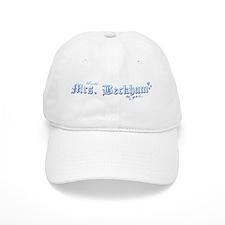 Mrs. Beckham Baseball Cap