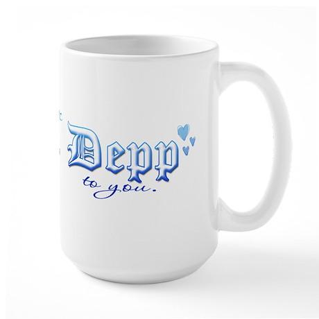 Mrs. Depp Large Mug