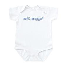Mrs. Pattinson Infant Bodysuit