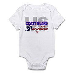 US Coast Guard Daughter Infant Creeper