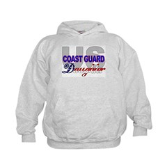 US Coast Guard Daughter Hoodie