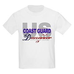 US Coast Guard Daughter Kids T-Shirt