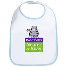 Don't Delay (Cat) - Neuter or Spay Bib