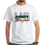 US Army Daughter White T-Shirt