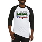 US Army Daughter Baseball Jersey