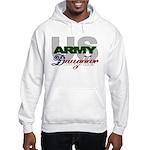US Army Daughter Hooded Sweatshirt