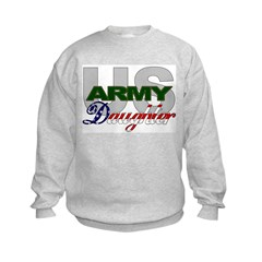 US Army Daughter Sweatshirt