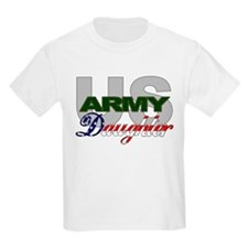 US Army Daughter Kids T-Shirt