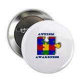 Autism awareness button 10 Pack