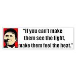 Ronald Reagan Quote - If they Sticker (Bumper 10 p
