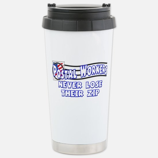 Postal Worker Stainless Steel Travel Mug