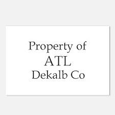 Property of ATL Dekalb Co Postcards (Package of 8)
