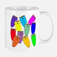 Rainbow Conga Mugs