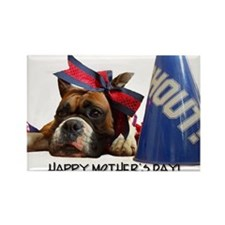 Happy Mother's Day Boxer Rectangle Magnet