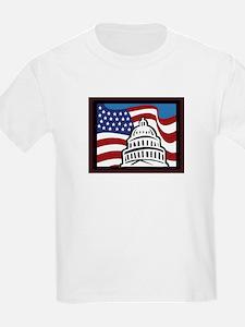US Flag & Capitol T-Shirt