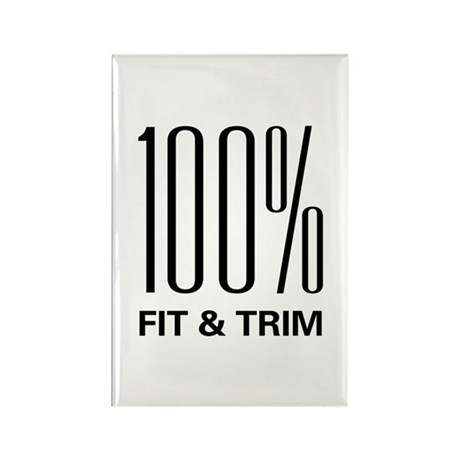 100 Percent Fit & Trim Rectangle Magnet (10 pack)