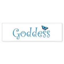 Goddess Bumper Bumper Sticker