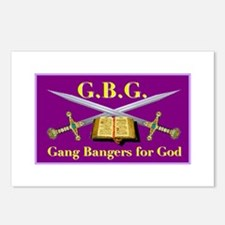 G.B.G. Postcards (Package of 8)