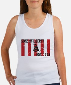 Sons of Liberty Est. 1765 w/S Women's Tank Top