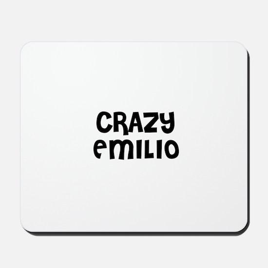 CRAZY EMILIO Mousepad