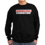 The Armed Man Sweatshirt (dark)