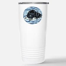 Newfoundland Bumper Dog Stainless Steel Travel Mug