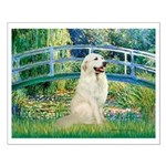 Bridge / Great Pyrenees Small Poster