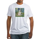 Bridge / Great Pyrenees Fitted T-Shirt