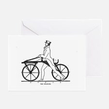 Draisine Bicycle Greeting Cards (Pk of 20)