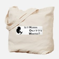 Is it Human - Tote Bag