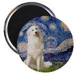 Starry Night / Pyrenees Magnet