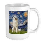 Starry Night / Pyrenees Large Mug